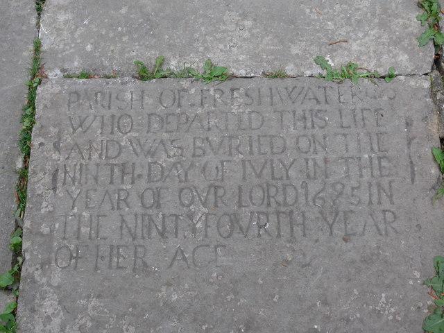 All Saints, Freshwater: churchyard (17)