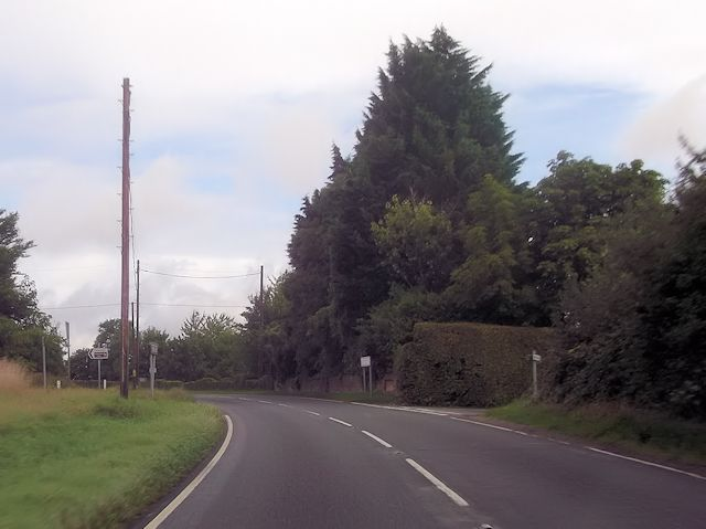 Crossroads at St Clair's Farm on A32