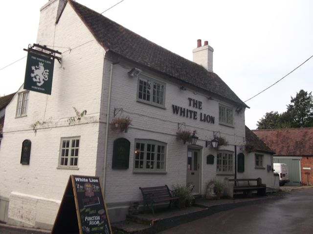 The White Lion at Soberton