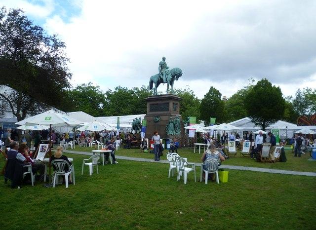 Edinburgh International Book Festival venue, Charlotte Square