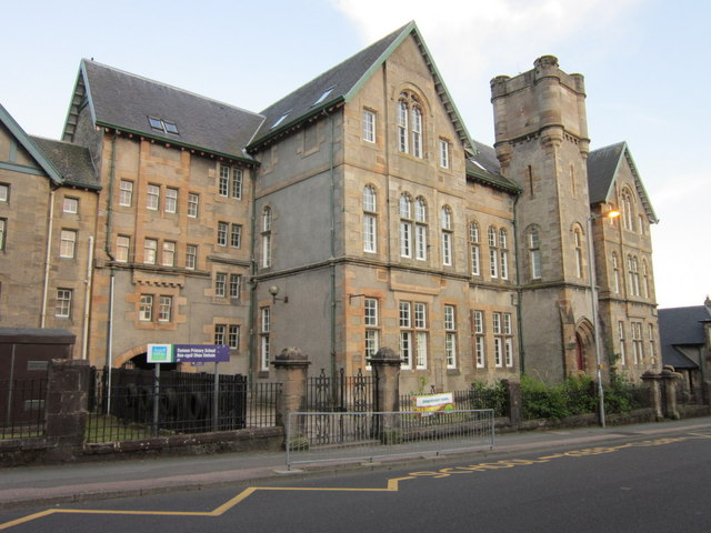 The Dunoon Primary School on Hillfoot Street