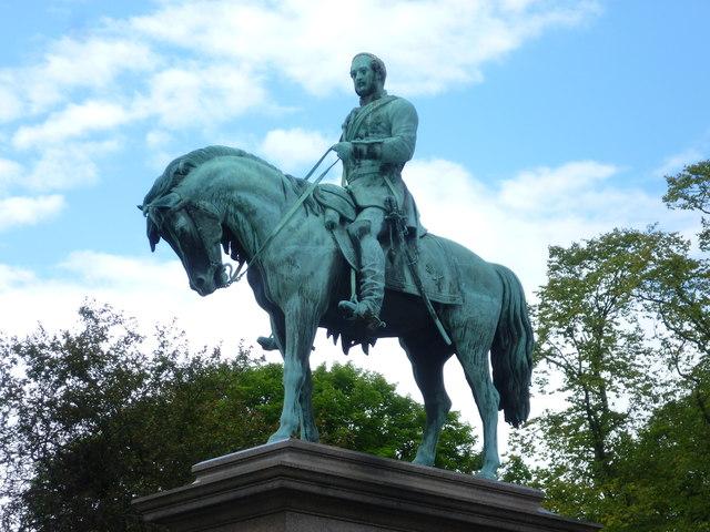 Prince Albert Memorial statue, Charlotte Square