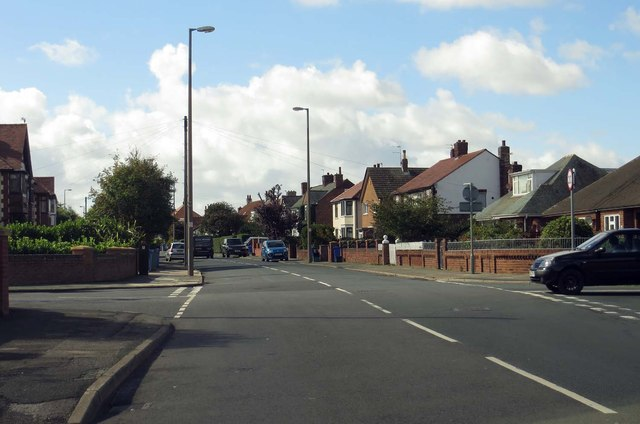 West Drive in Cleveleys