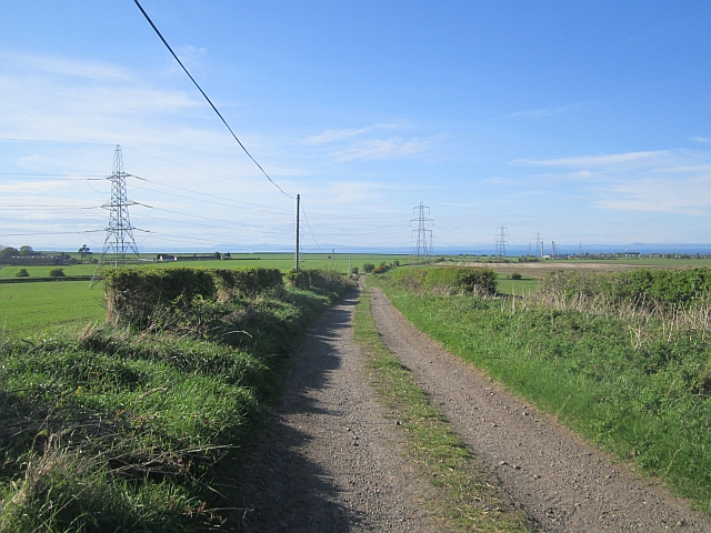 Unsealed road, Elphinstone