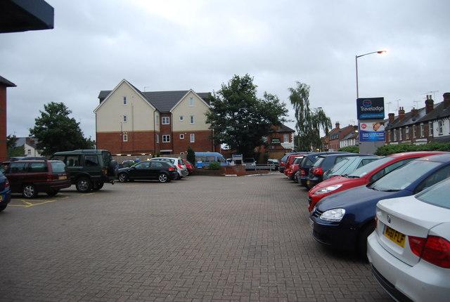 Oxford Rd Travelodge car park