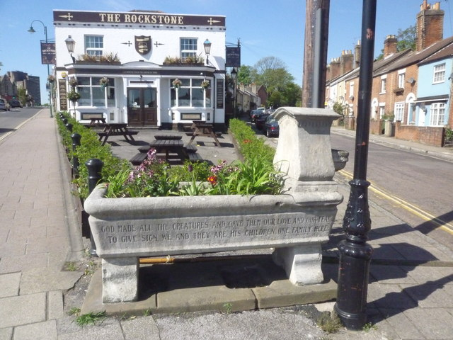 Drinking fountain & Trough, The Rockstone
