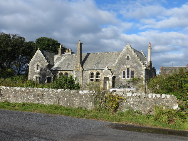 The former school building at Clachanmore