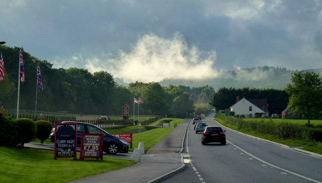 Low cloud over Huntley