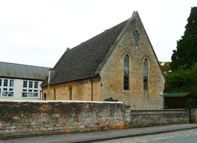The old school building, Bredon