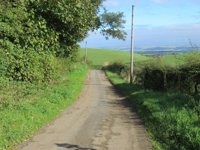 Lane near Colfin