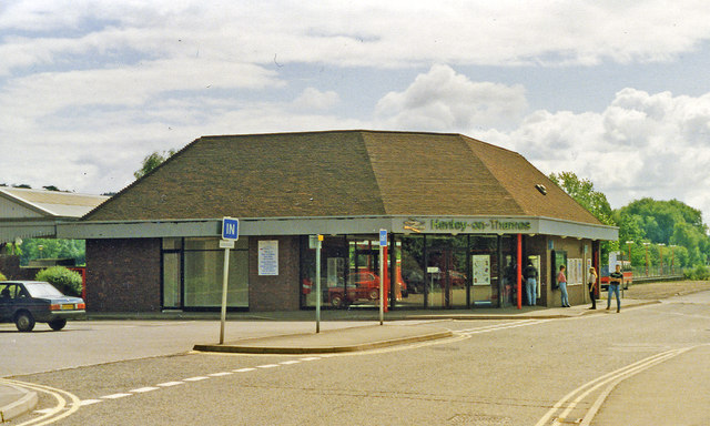 Henley-on-Thames station, exterior 1993