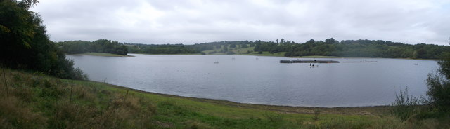 Panorama of Bewl Water Reservoir