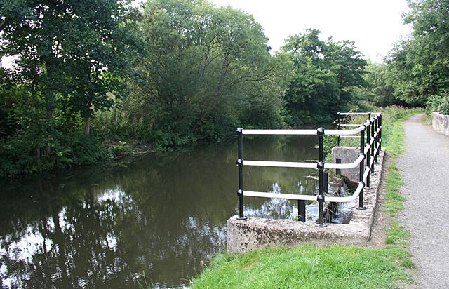 Canal Spillway