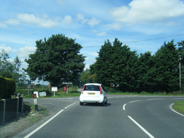 A52/Helsey Lane junction