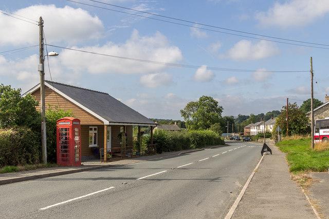 Hundred House Village, Powys