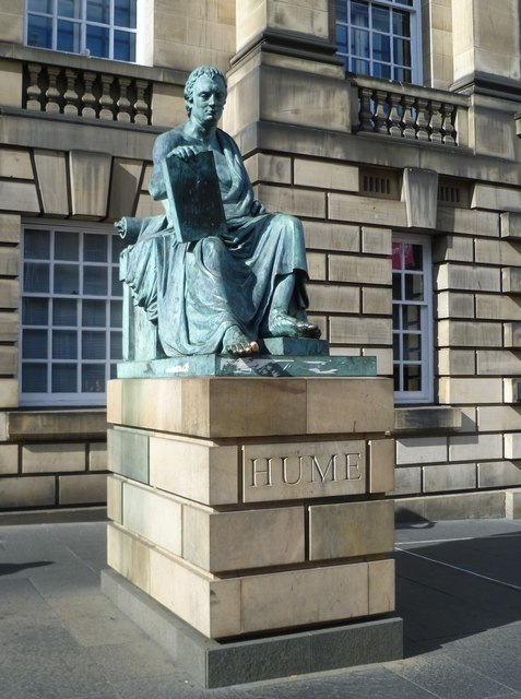 David Hume statue, Lawnmarket