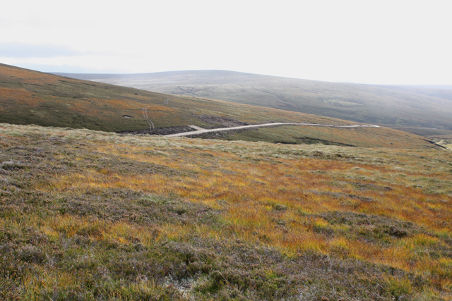 Moorland west of Carn an Radhaire