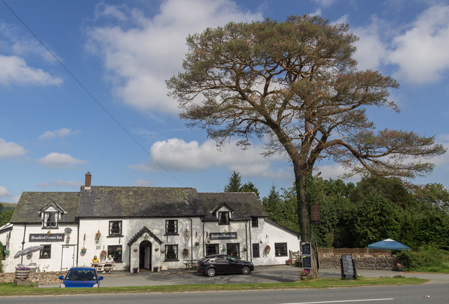 Hundred House Inn, Hundred House, Powys