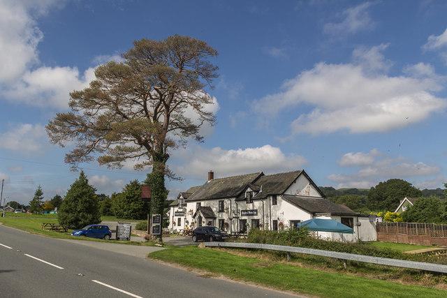 Hundred House Inn, Hundred House, Powys
