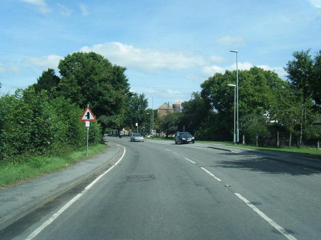 A52 Mumby Road looking toward Huttoft Mill