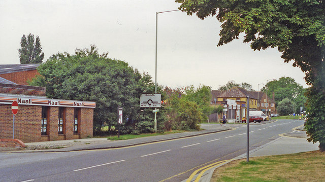 Site of Henlow Camp station, 1994