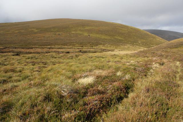 Moorland east of Creag Dhubh Tigh an Aitinn
