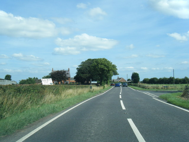 A52 northbound at Sea Lane junction