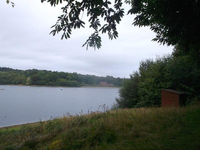 Shelter near Hook Hill overlooking Bewl Water Reservoir