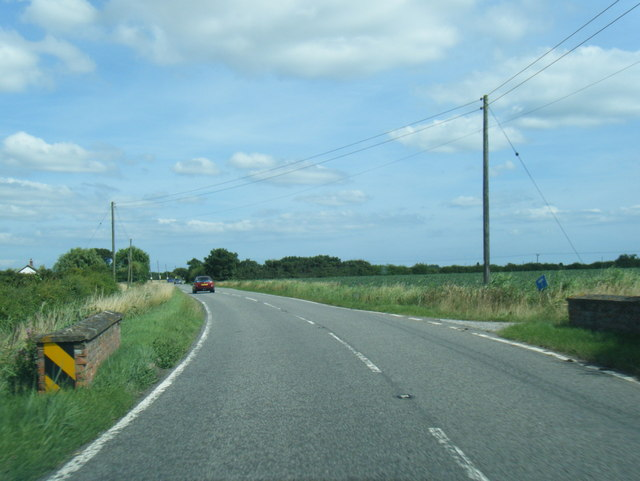 A52 northbound looking towards Twa Trees