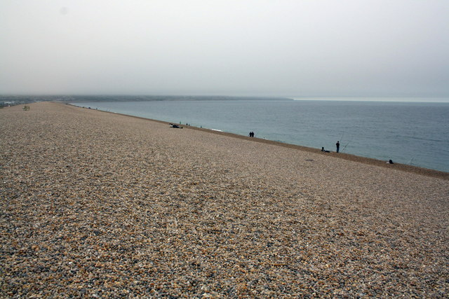South East end of Chesil Beach