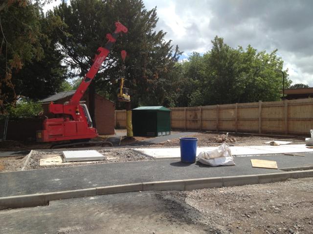 Sewer improvements meet the public gaze, Station Approach