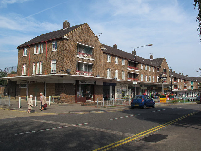 Twydall Green shops (1)