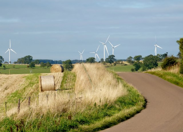 View of a windfarm