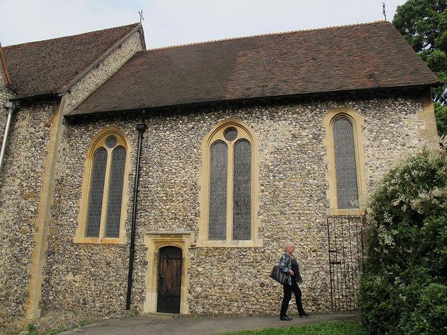 All Saints, Orpington: old chancel
