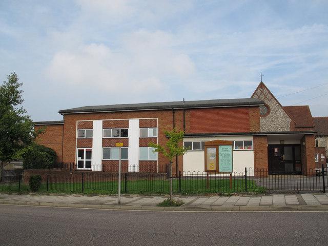All Saints, Orpington: church hall