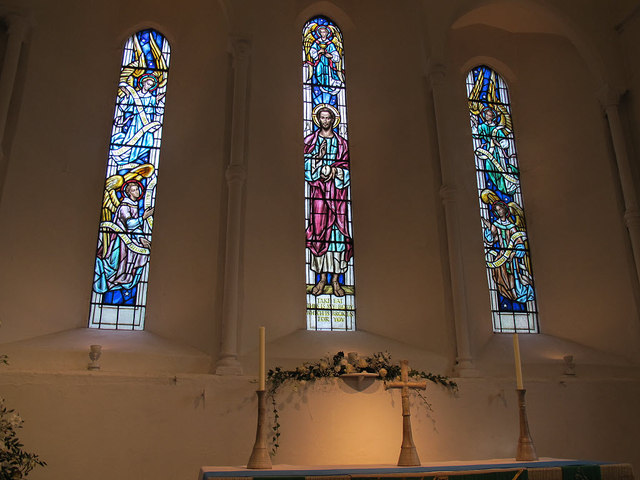 St Martin of Tours, Chelsfield: east window