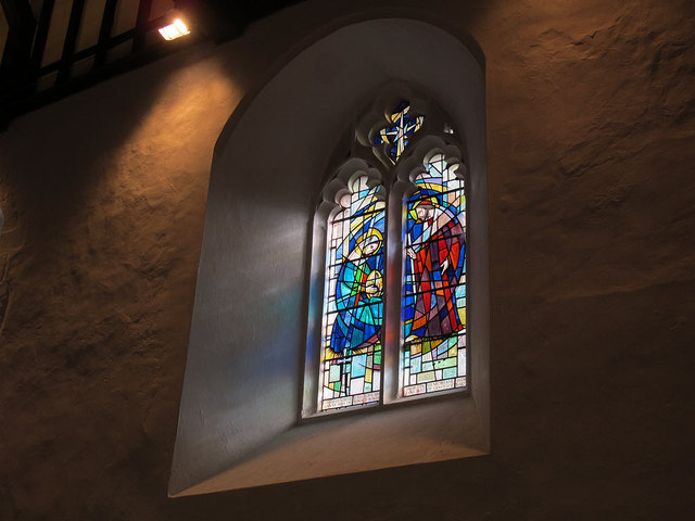 St Martin of Tours, Chelsfield: Baker window