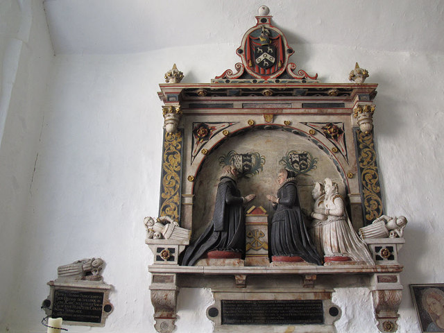 St Martin of Tours, Chelsfield: Collet memorial