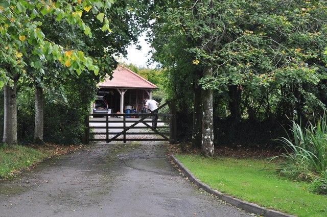 Mid Devon : Road to Redgate Farm