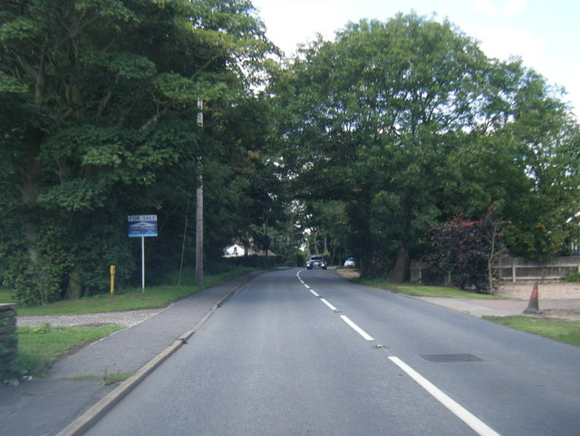 A1031 in Theddlethorpe St Helen
