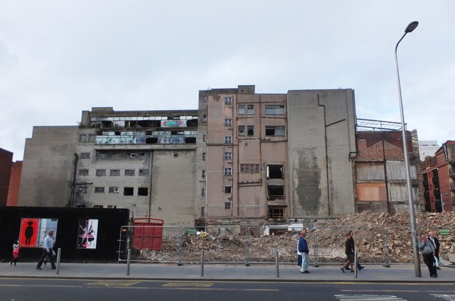 Demolition site, Argyle Street
