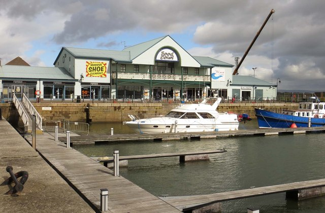 The Food Court by the marina in Freeport