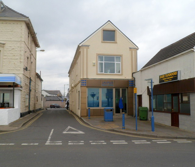 Two Indian cuisine premises in Porthcawl
