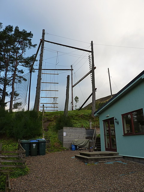 Rope course at Gulabin Lodge