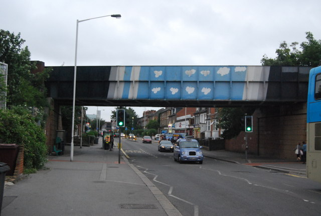 Railway Bridge, Oxford Rd