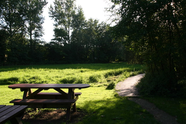 Entrance to Howden Marsh Local Nature Reserve
