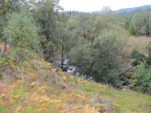 Allt Chomraidh in Rannoch Forest