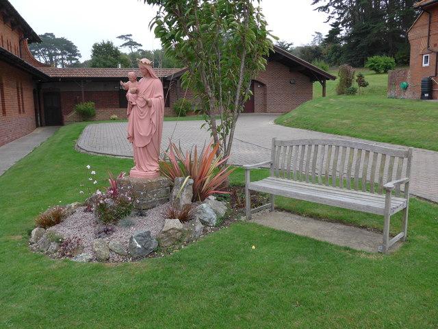 St Saviour's RC Church, Totland: statue (a)