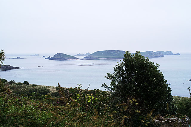 The Eastern Isles from Higher Town, St Martin's