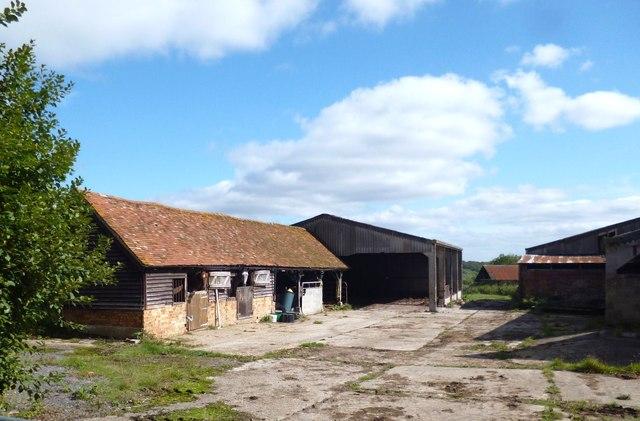 Yard at Portobello Farm